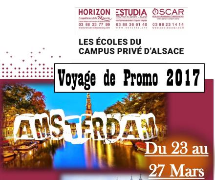 Voyage de Promotion 2017