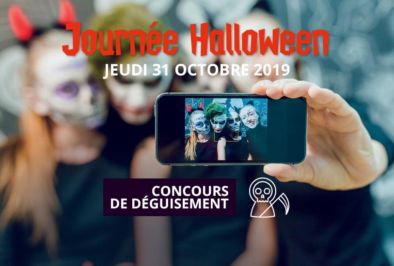 Journée Halloween 2019